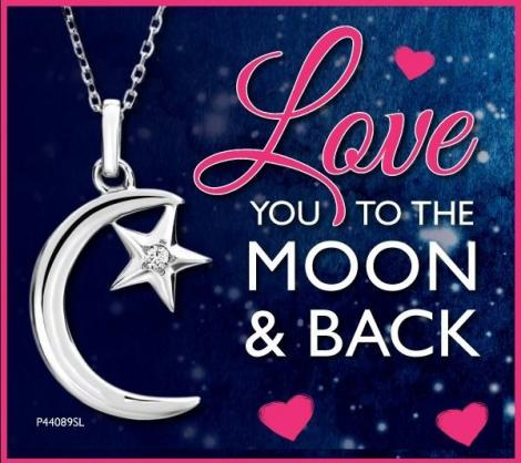 """Love You To The Moon & Back"""